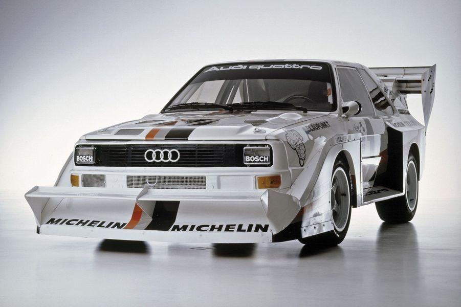 Les Audi Quattro, gloires de Pikes Peak