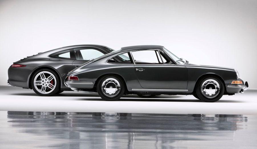 De 1963 à 1997, le six-cylindres à plat de la 911 est resté fidèle au refroidissement par air, alors que la production automobile mondiale se tournait progressivement vers le refroidissement par eau.