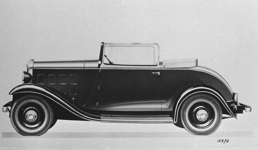 Rosalie Roadster Cabriolet, 1933