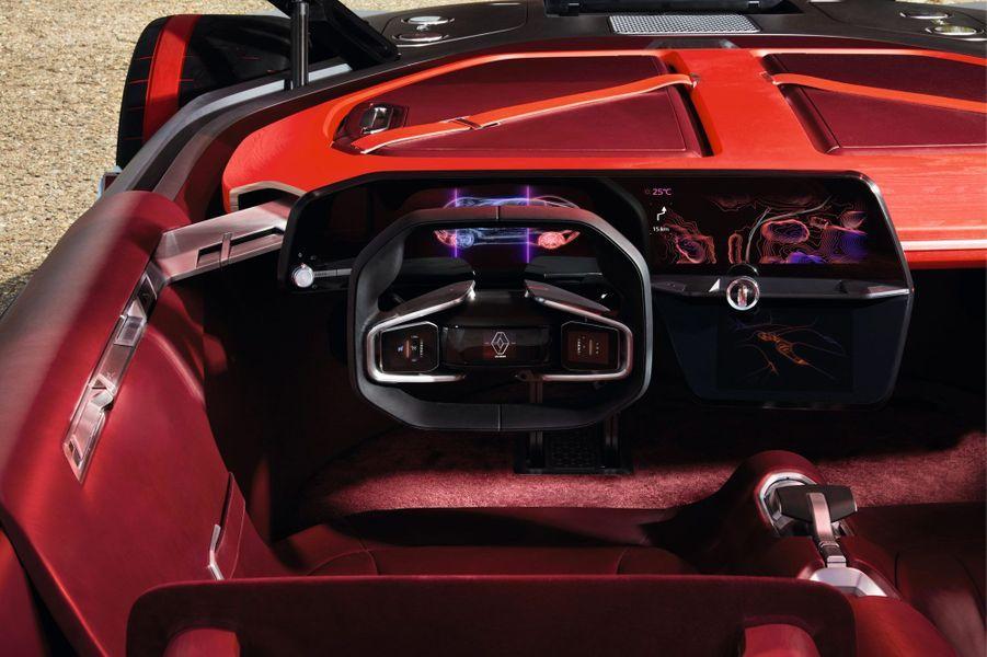 L'habitacle de la Renault Trezor