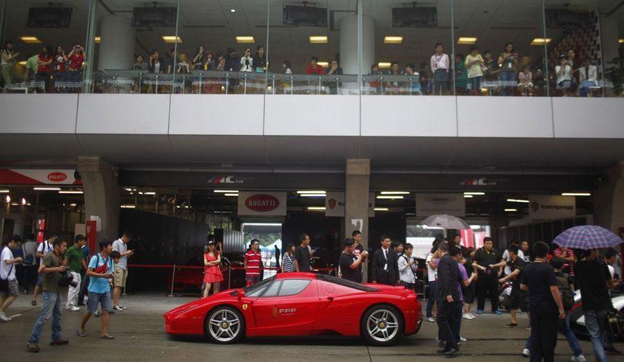 Une très exclusive Ferrari Enzo