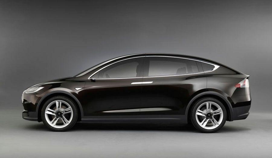 Le Model X pourra accueillir sept personnes à bord.