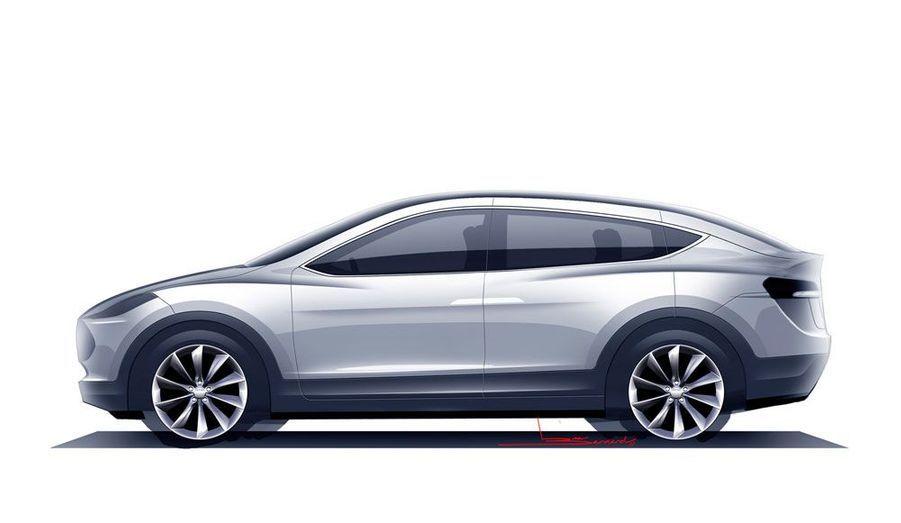 Le Model X sera mû par une motorisation entièrement électrique, soutenue par une batterie de 60 ou 85 kWh. Au programme: des performances dignes d'une Porsche, avec un 0 à 100 abattu en 5 secondes.