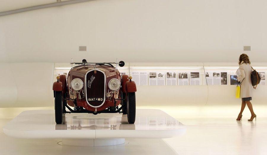 Cette Fiat 508S Ballila Coppa d'Oro de 1934 a fait partie de la Scuderia Ferrari.