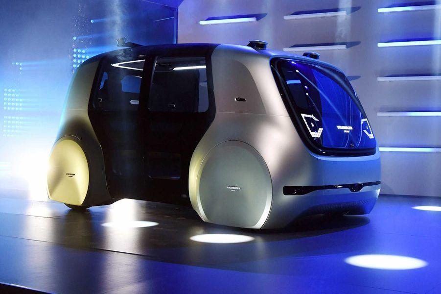 Le prototype de voiture autonome de Volkswagen, baptisé Sedric.