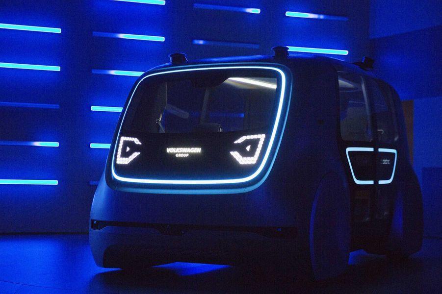 Le prototype de voiture autonome de Volkswagen, baptiséSedric.