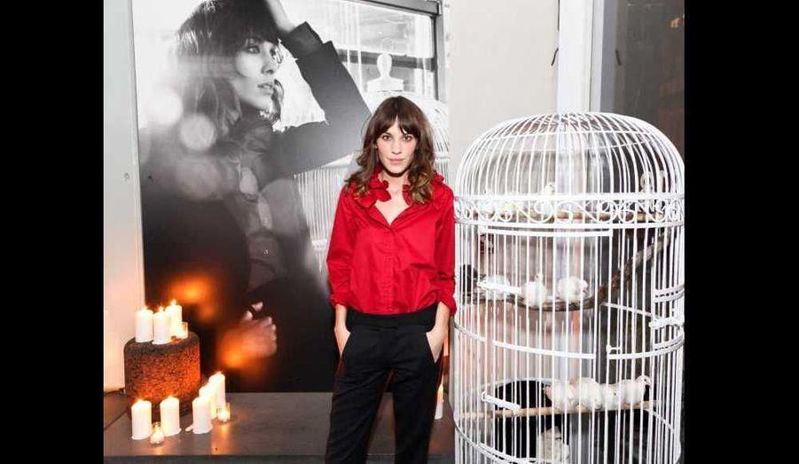 Jeudi dernier, MAJE a lancé sa nouvelle collection avec son égérie Alexa Chung à l'Hôtel Americano de New York.