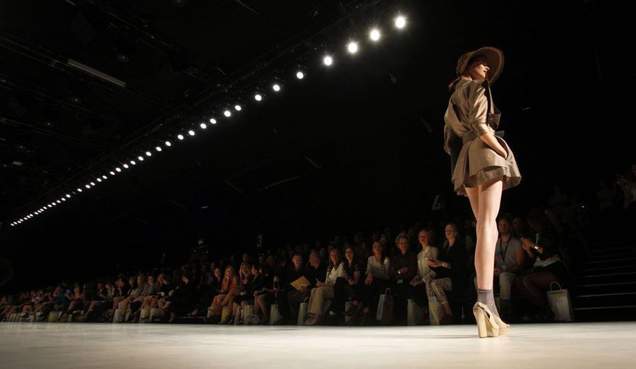 A la fashion week de Sydney, le défilé Raffles a eu lieu jeudi.