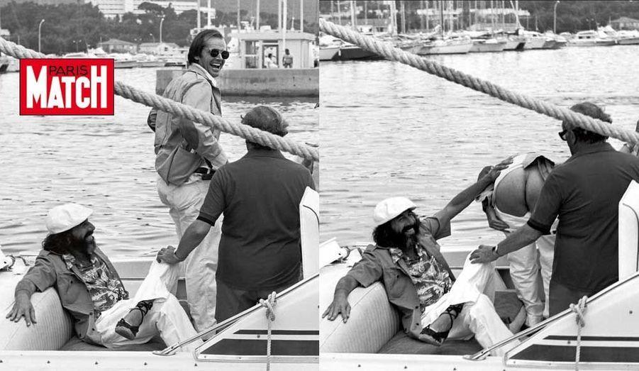 """Spécial été Côte d'Azur. Daniel Angeli : « On l'appelait : """"Jack, Jack !"""" Il a baissé son pantalon en se marrant. Toute une époque... Aujourd'hui, plus aucune célébrité ne délire comme ça. »"""