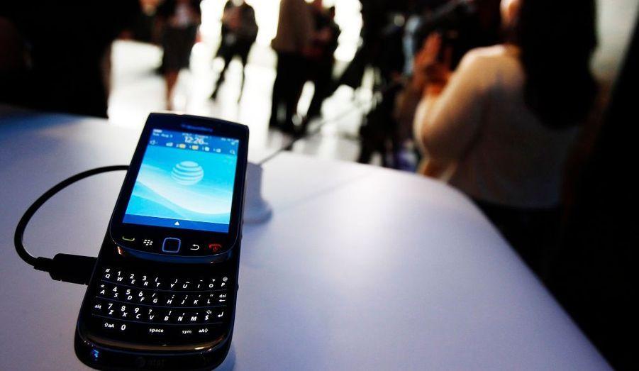 Le nouveau Blackberry Torch 9800 a été présenté hier lors d'une conférence de presse à New-York.