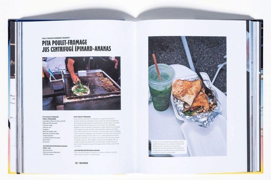 A la tabledes AngesCapter l'esprit d'une ville par ses recettes, c'est un angle futé. Et un carnet de voyage original, que l'on doit à un Français amoureux de Los Angeles et fondateur des restaurants Blend Hamburger à Paris. A Santa Monica, Venice, Malibu ou Hollywood, ses photos plantent le décor et l'ambiance de rue. Les lobsters rolls, Cobb salad, cupcakes, cocktails et frozen yogurts sont, eux, saisis sur le vif dans les meilleurs restos, bars, food trucks et marchés de la Cité des Anges. Cent recettes pour des menus cool.«Los Angeles, les recettes culte», par Victor Garnier Astorino, éd.Marabout, 25 euros.