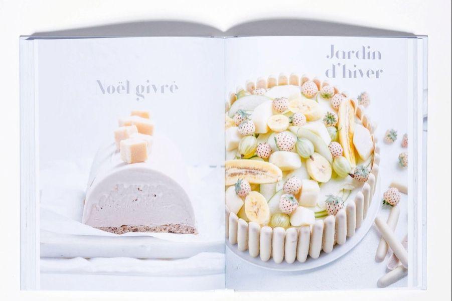 Blancscomme neigeAérien,glacé, velouté, poudré... voici déclinées 10 nuances de blanc en 80 recettes sucrées ultra-séduisantes. Mousse, meringue, glaçage, chantilly... Le parti pris monochrome de l'ouvrage nous transporte sur un petit nuage. Même si la légèreté de ces desserts n'est qu'un mirage.«La crème de la crème», par Stéphanie de Turckheim, Hachette cuisine, 24,95 euros.