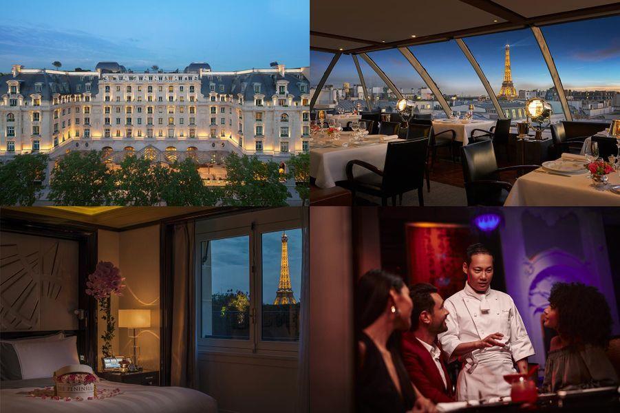 Au Peninsula Paris 19, avenue Kléber75016 Paris