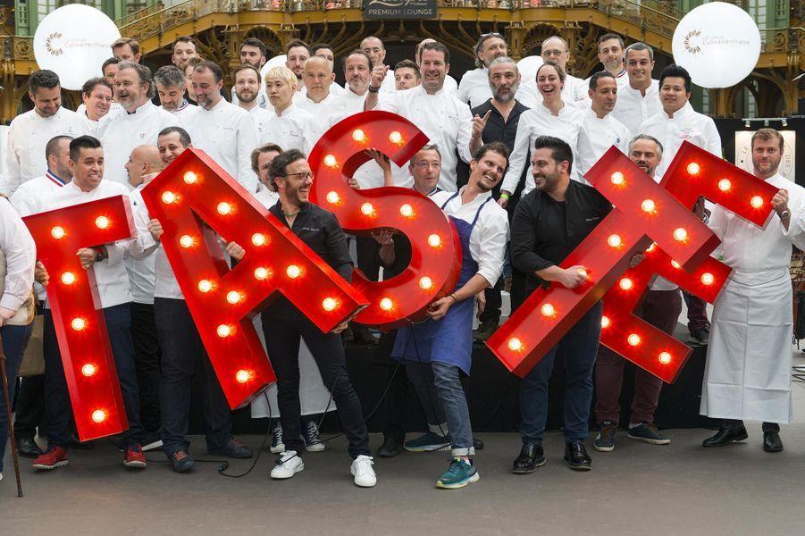 La cinquième édition du festival Taste of Paris a été lancée au Grand Palais.