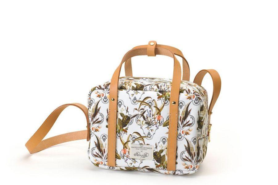 Le sac issu de la collaboration Pampille Paris x Maison Baluchon
