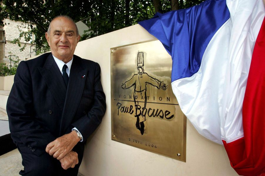 Le chef Paul Bocuse, en juin 2004.