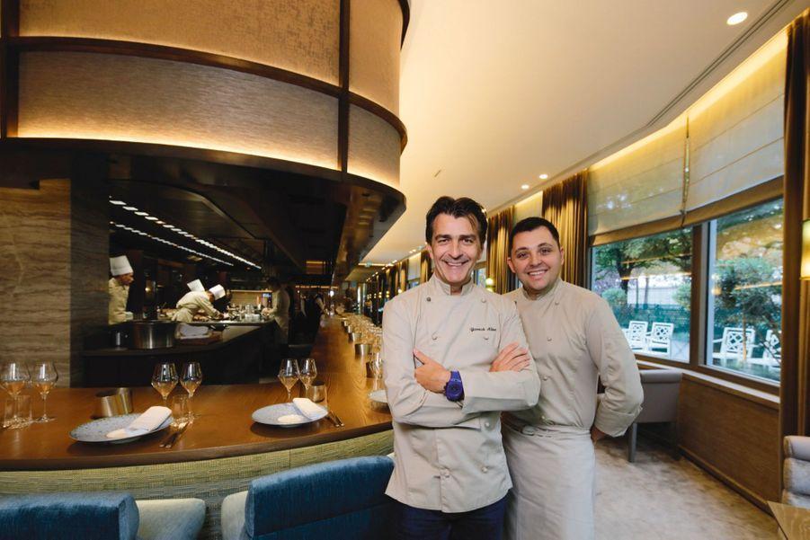 Le chef et son pâtissier virtuose, Aurélien Rivoire