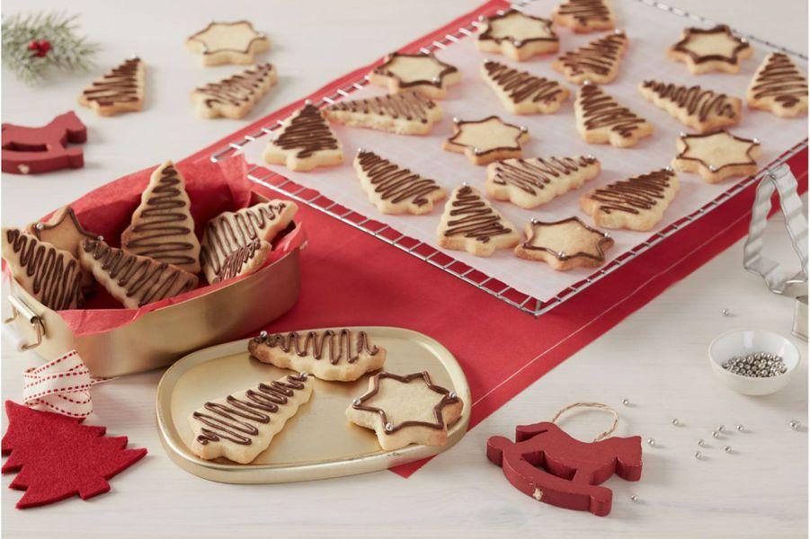 Sablés aux amandes et au Nutella