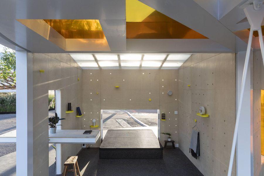 Une cabine de 15 mètres carrés pour se sentir bien.