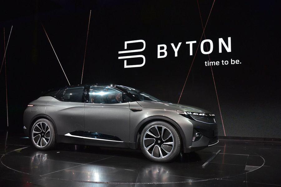 La Byton devrait être commercialisée en 2019.
