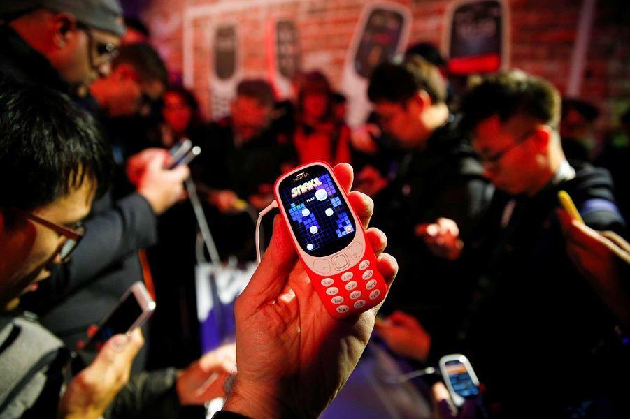 Il a été présenté au Mobile World Congress de Barcelone.