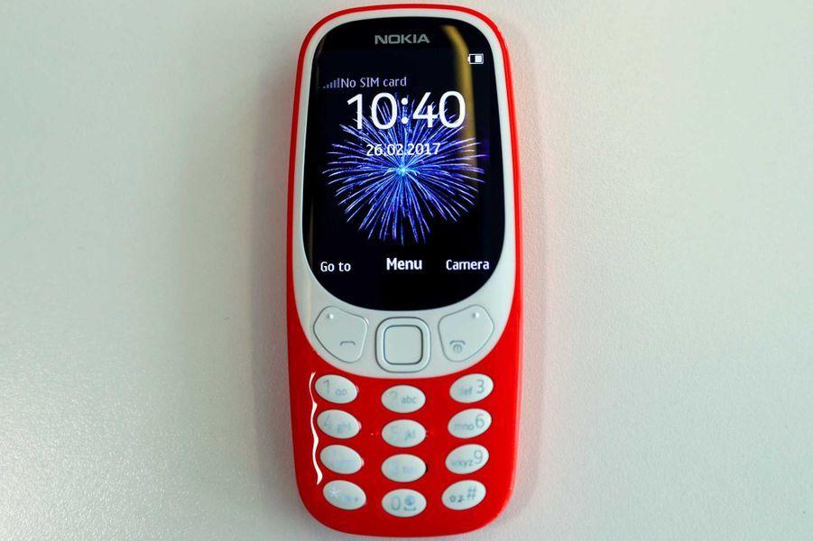 Le nouveau Nokia 3310.