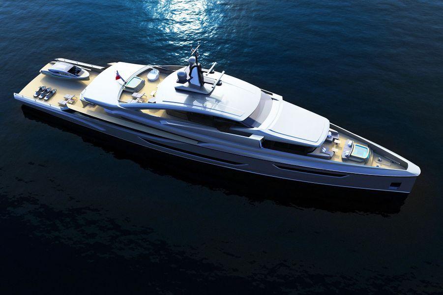 La société slovène VOM Creations a imaginé un yacht futuriste inspiré de «Mission : Impossible». Son nom ? Hunt, Mr. Hunt.
