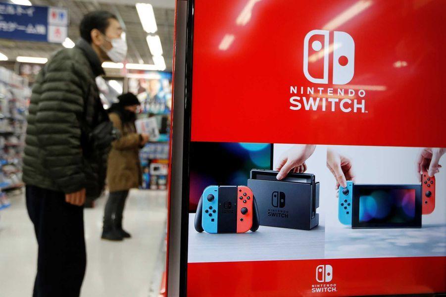 La folie Nintendo Switch au Japon