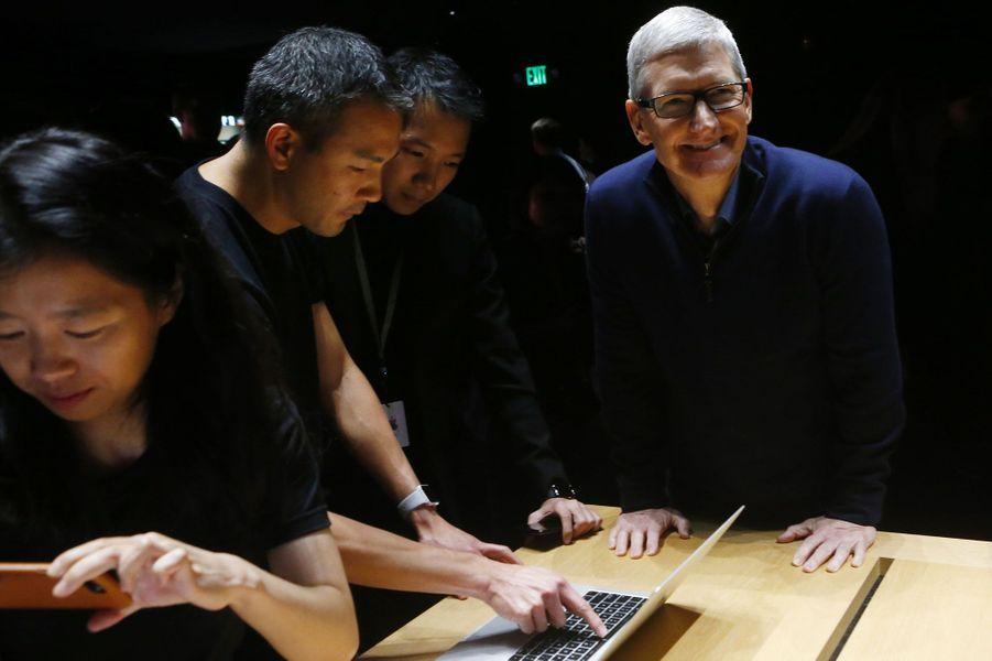 Le directeur d'Apple Tim Cook