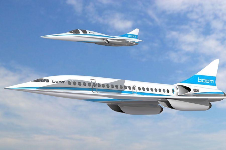 Derrière Boom, le XB-1, le jet supersonique de la compagnie