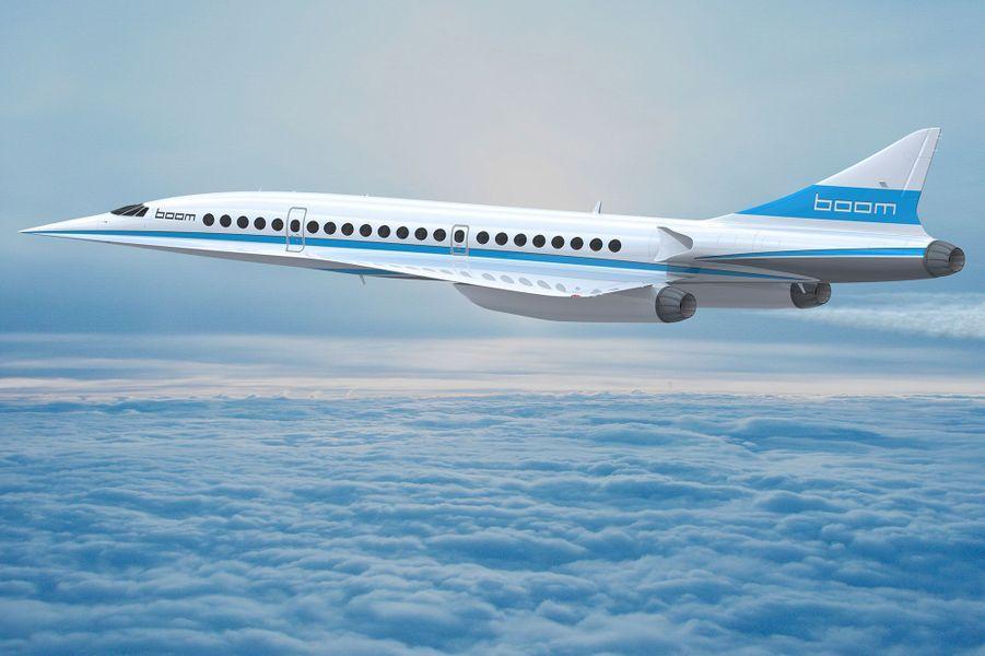 L'avion supersonique de Boom pourra franchir les 2300 km/h