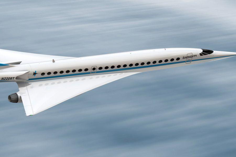 L'avion supersonique de Boom