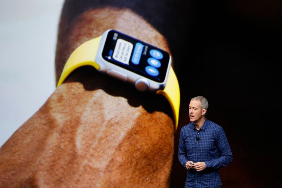 La nouvelle apple Watch.