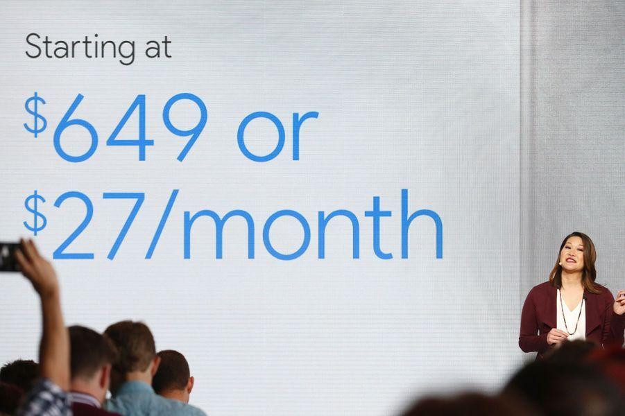 649 dollars : prix de départ de Pixel