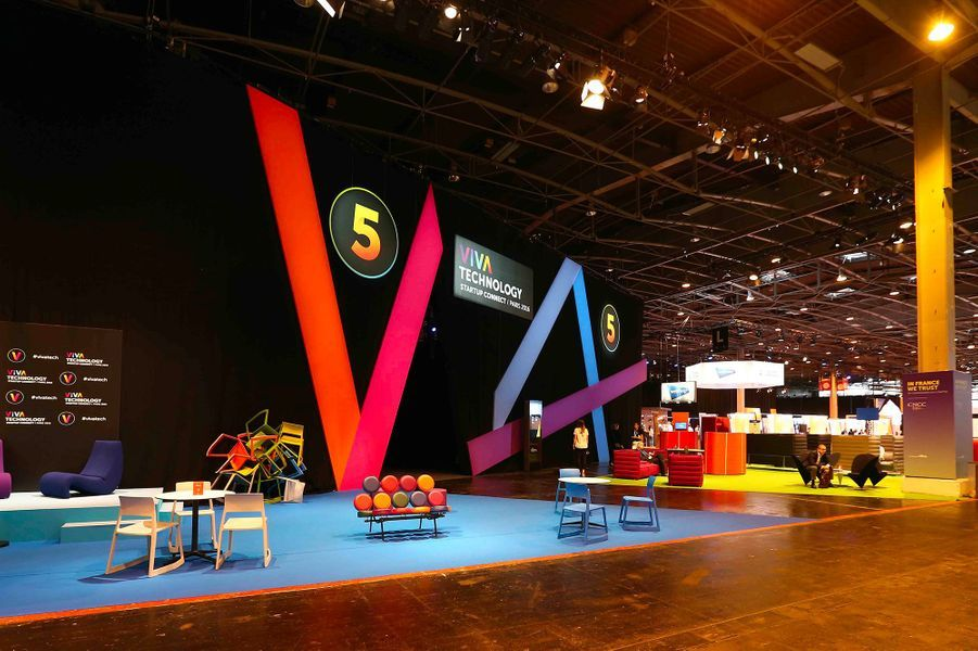 Lors de l'édition 2016 du salon Viva Technology.