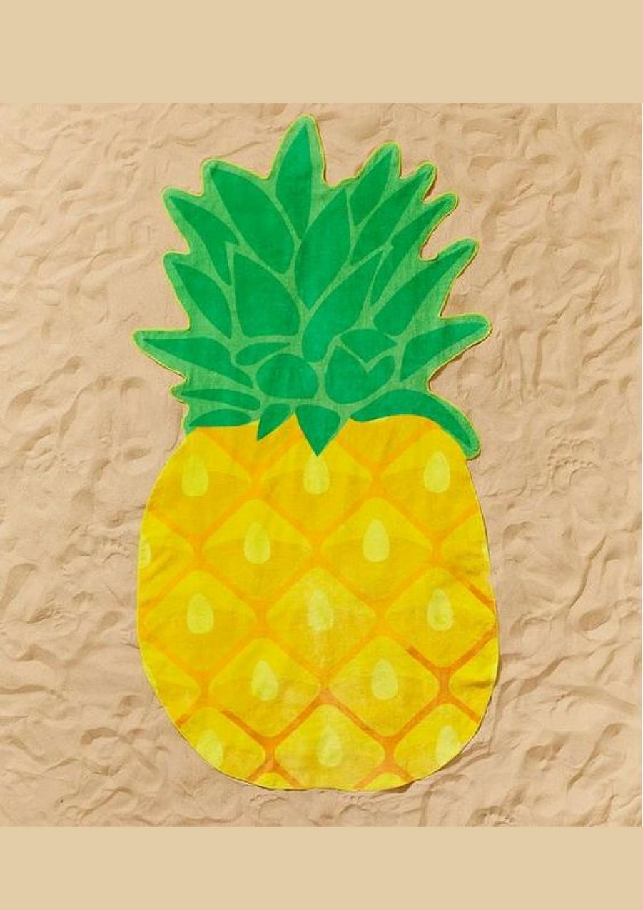 Serviette de plage en forme d'ananas, 39.95€Voir l'épingle