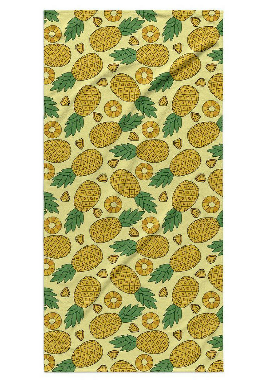 Serviette de plage rectangulaire à motif ananas, 68.05€Voir l'épingle