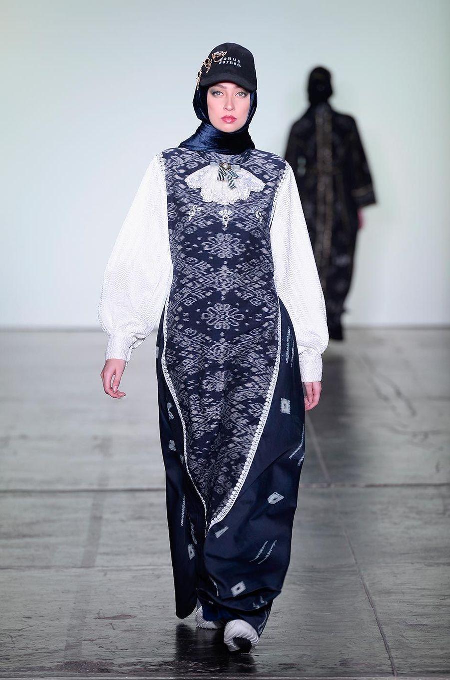 Au défilé Vivi Zubedi à New York, le 11 février 2018.