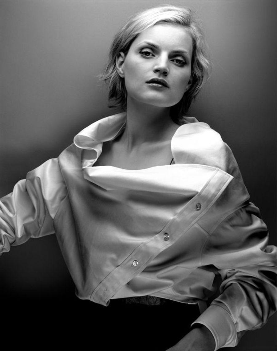 Chemise renversée. Couture été 2002, Collection Fillemâle Maison Anne Valérie Hash