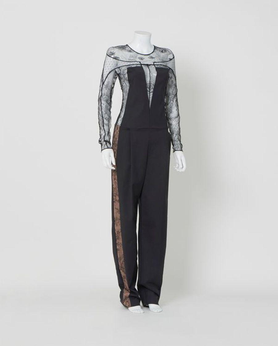 Combinaison à empiècements en dentelles Soltsiss. Pizval et Jean Bracq Couture hiver 2014, Collection Jumpsuit