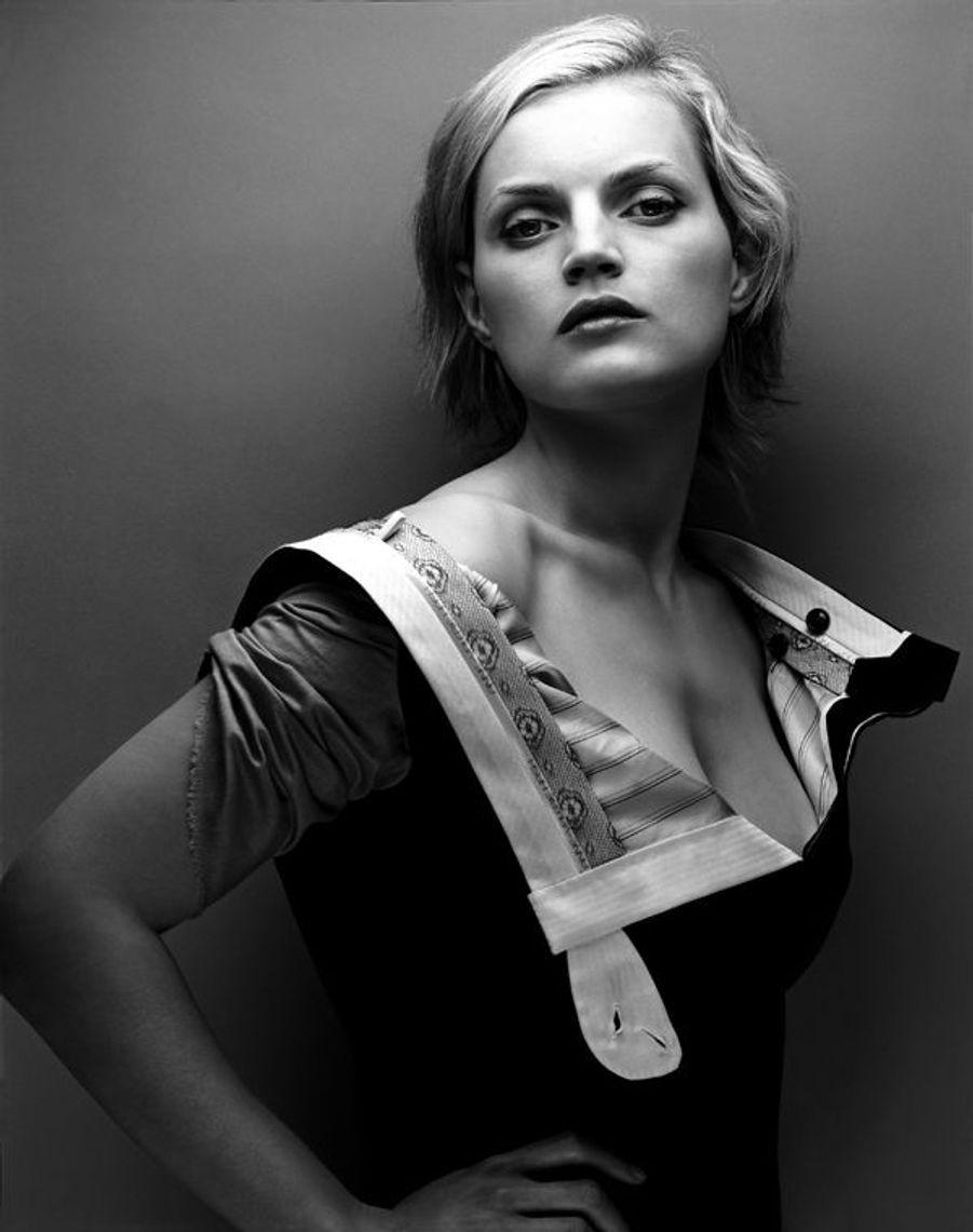 Robe-pantalon. Couture été 2002, Collection Fillemâle Maison Anne Valérie Hash