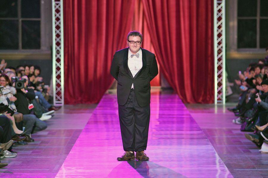 Alber Elbaz pour la collection Automne-Hiver 2005-2006