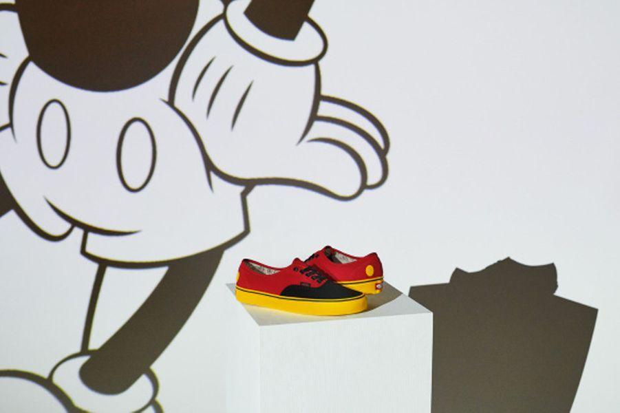 La collection Vans x Mickey Mouseest disponible dès vendredi sur le site de la marque.