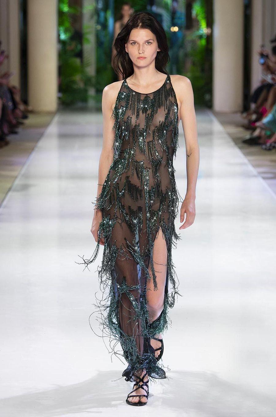 La collection Haute Couture Azzaro, Automne-Hiver 2018-2019.