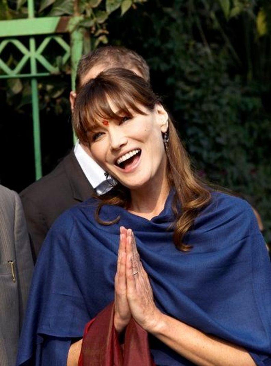 En visite officielle en Inde en décembre 2010