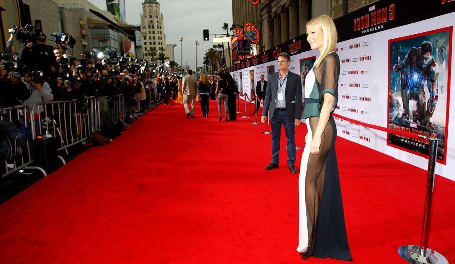"""A l'image de Gwyneth Paltrow et de la robe osée qu'elle portait à la première mondiale d'""""Iron Man 3"""", de nombreuses stars n'ont pas eu peur de porter des robes affriolantes sur le tapis rouge. Florilège en images."""