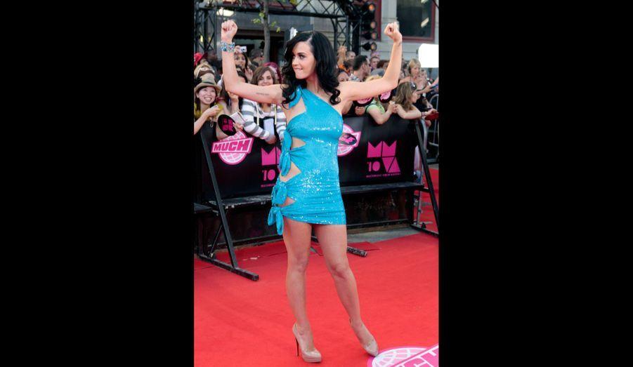 Aux MuchMusic Video Awards de 2010.