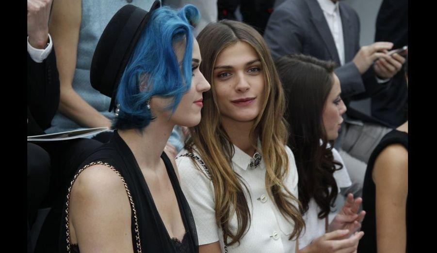 Katy Perry et Elisa Sednaoui.