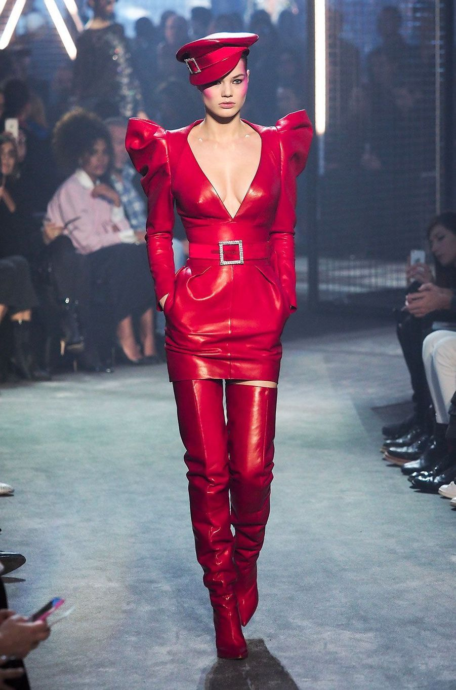 Le défilé Haute Couture d'Alexandre Vauthier, présenté à Paris le 23 janvier 2018.