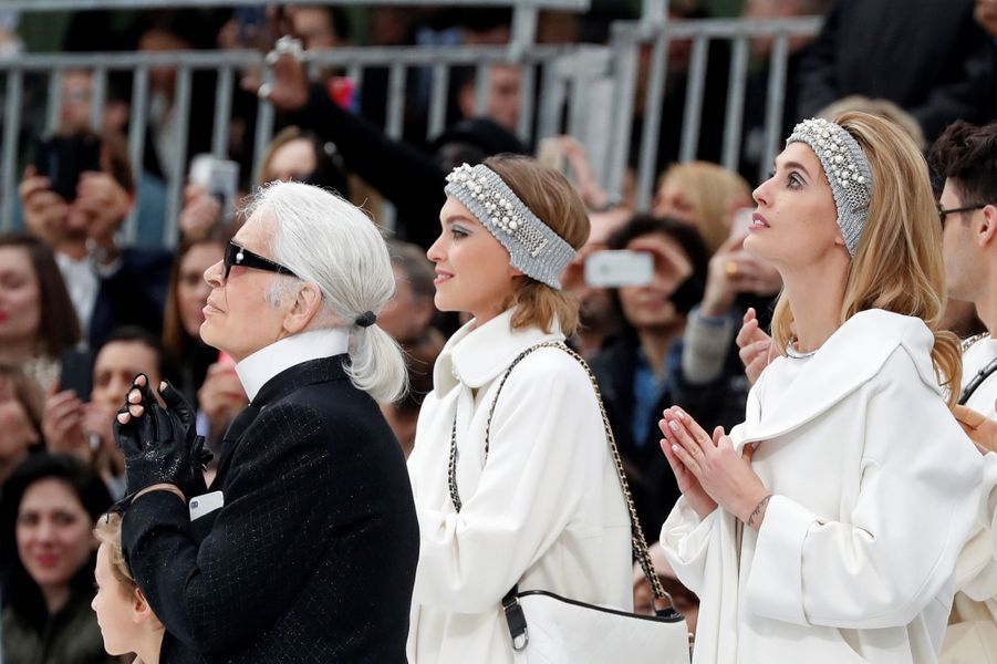 Le défilé Chanel à Paris, le 7 mars 2017.